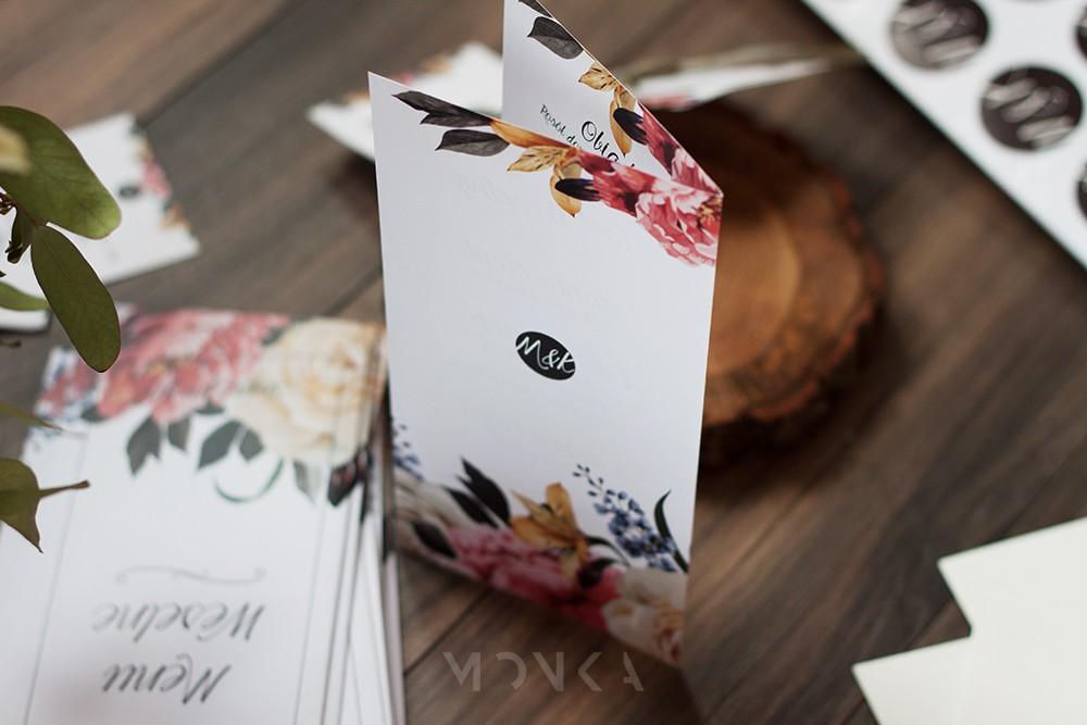 menu weselne tył